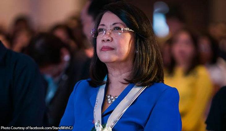 Chief Justice Ma. Lourdes Sereno