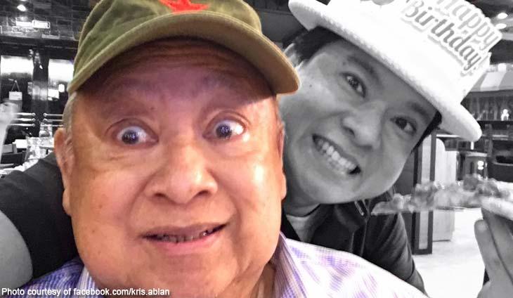 Lawyer Roque Ablan Jr., a former Ilocos Norte congressman