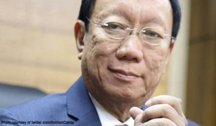Solicitor General Jose Calida