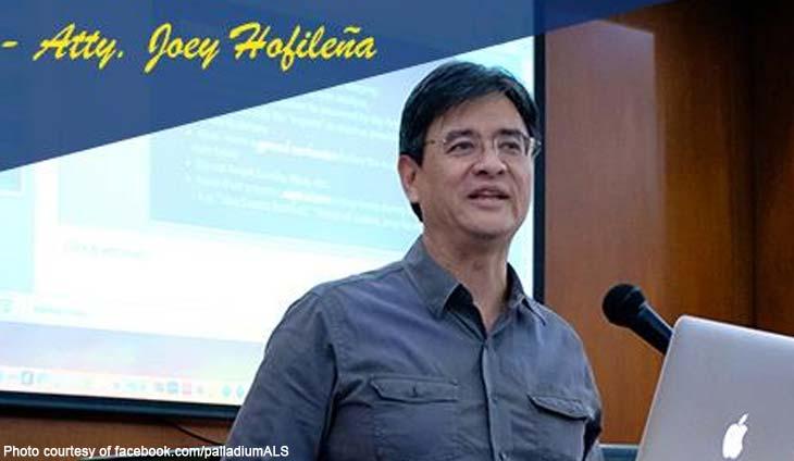 Ateneo Law School Joey Hofileña