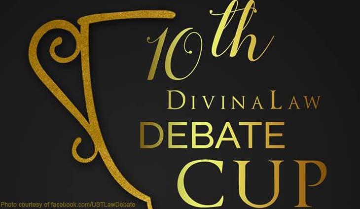 UST Law Debate DivinaLaw Cup