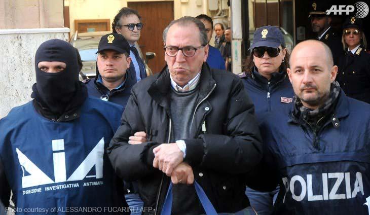 Cosa Nostra kingpin Matteo Messina Denaro