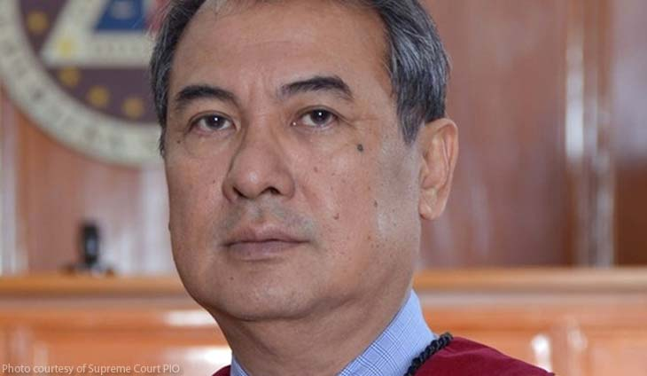 Supreme Court Associate Justice Alexander Gesmundo