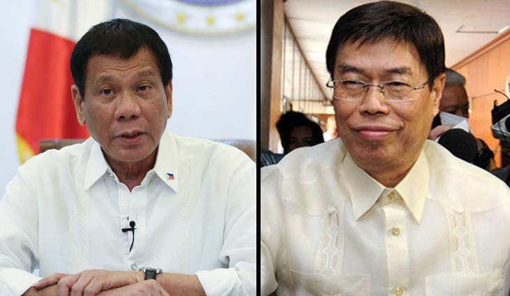 Duterte has more evidence on Peter Lim - Panelo