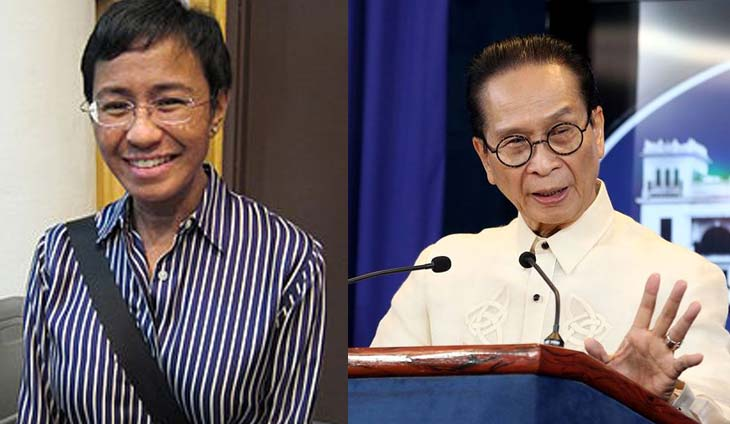 Be woman enough! Panelo tells Maria Ressa: Face charges instead of using free speech to malign Duterte