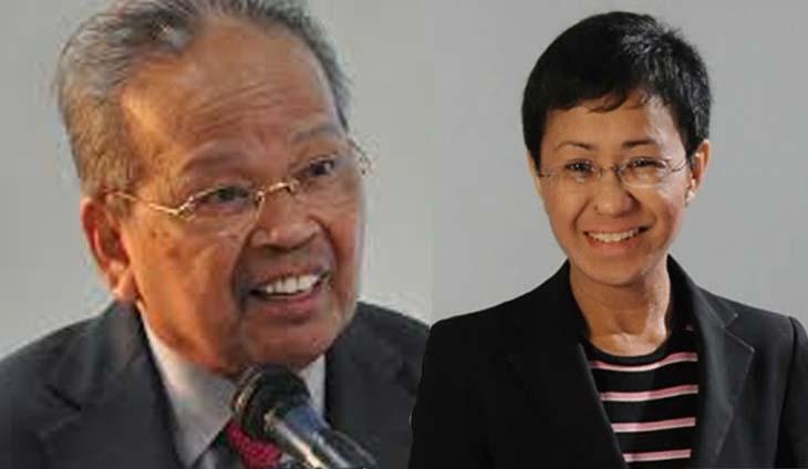 Ex-CJ Panganiban says Ressa's shabby treatment during arrest has zero impact on libel case