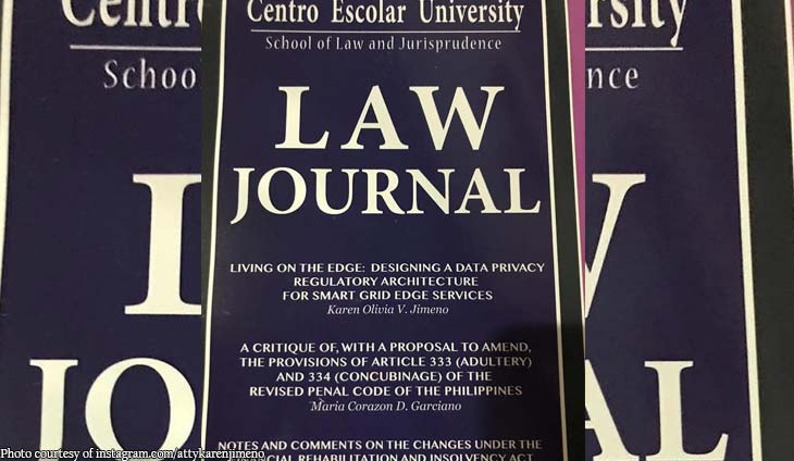 Markado! Karen Jimeno's work published in CEU Law Journal