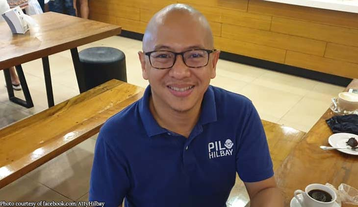 Pilo approved! Florin Hilbay supports complaint against China
