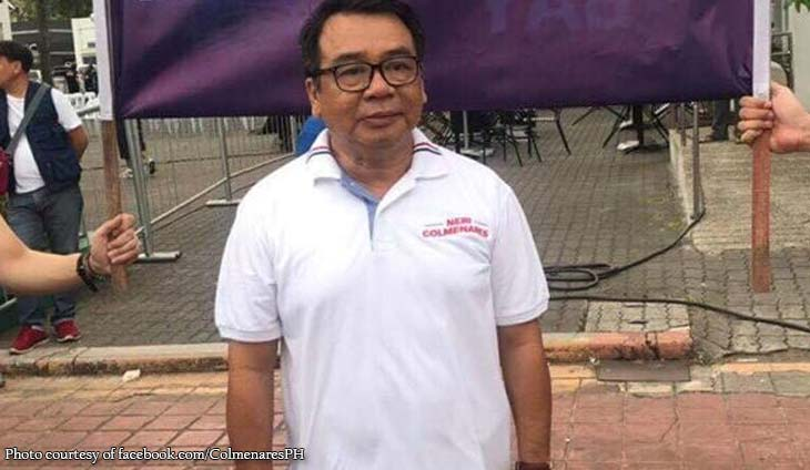 Colmenares revealed to have authored mobile disaster alerts law