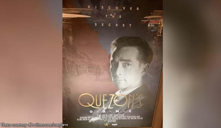 Check out Tony La Viña's review of 'Quezon's Game'
