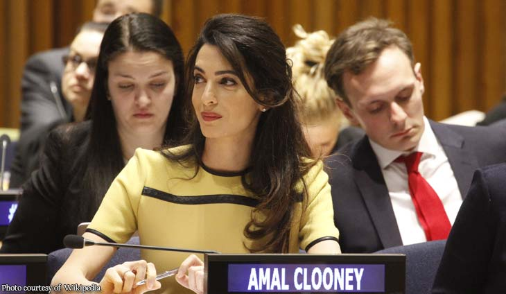 Amal Clooney to represent Maria Ressa's international legal team