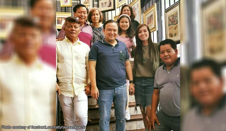 Sarap! Raymond Garcia attends reopening of Rico's Lechon
