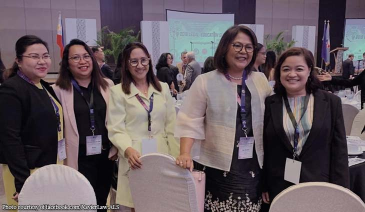 XU Law Dean, student rep attends Legal Education Summit 2019