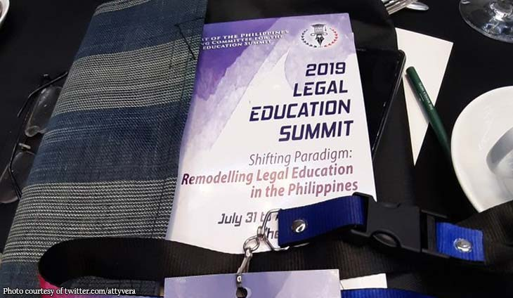 Rod Vera attends Legal Education Summit 2019