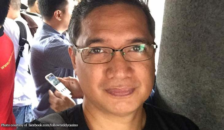 Saan banda: Teddy Casiño lists Sanchez's crimes inside Bilibid